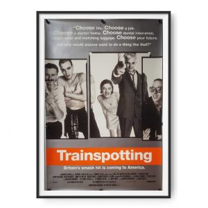 Trainspotting (1996) US One Sheet Poster