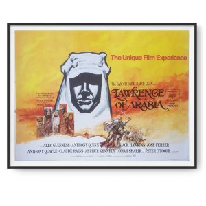 Lawrence Of Arabia (1962) UK Quad 1971 Re-release