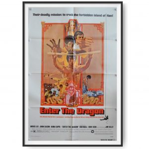 Enter The Dragon (1973) Original US One Sheet Poster