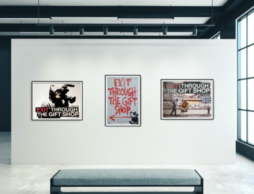 Investing in BANKSY through Cinema Posters