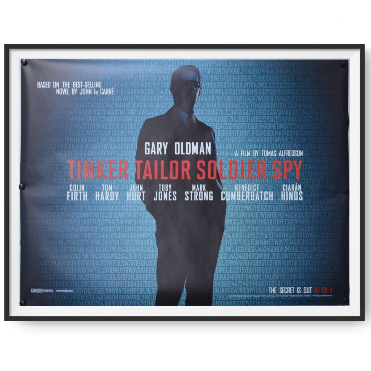 This image for the film Tinker Tailor Soldier Spy shows Gary Oldman.