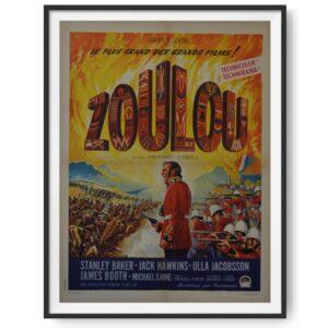 Zulu (1964)Orginal French Moyenne Poster