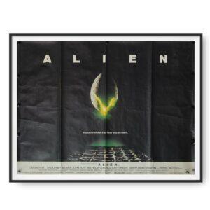 Alien (1979) Original UK Quad Cinema Poster
