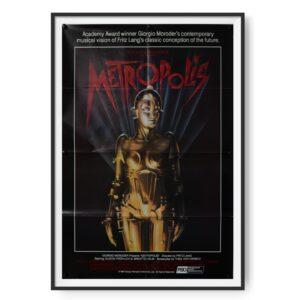 Metropolis (1927) US One Sheet Poster 1984 RR