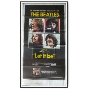 Let It Be (1970) US Three Sheet Poster